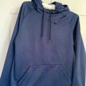 Nike Men's Navy Blue Hoodie